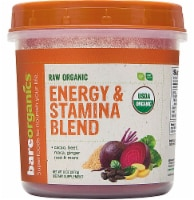 BareOrganics Energy & Stamina Blend Dietary Supplement