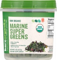 BareOrganics  Marine Super Greens Powder Raw