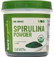 BareOrganics Raw Spirulina Powder