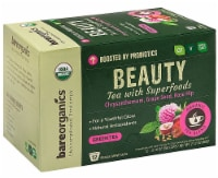 BareOrganics Beauty Green Tea Single Serve Cups - 12 ct