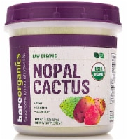 BareOrganics Raw Nopal Cactus Powder