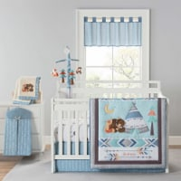 New Country Home 6062A 4 Piece Be Brave Crib Bedding Sheet Set - 18 x 13 x 5.5 in. - 4