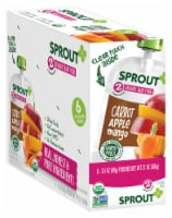Sprout Organic Carrot Apple Mango Stage 2 Baby Food