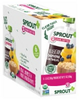 Sprout Organic Stage 2 Blueberry Banana Oatmeal Baby Food
