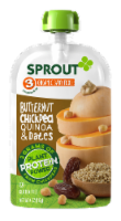Sprout Organic Butternut Chickpea Quinoa & Dates Stage 3 Baby Food