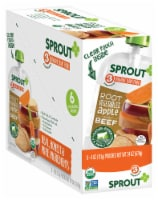 Sprout Organic Root Vegetables Apple & Beef Stage 3 Baby Food