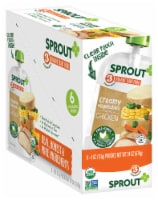 Sprout Organic Creamy Vegetables with Chicken Stage 3 Baby Food