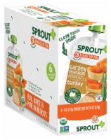 Sprout Garden Vegetables Brown Rice Turkey Stage 3 Baby Food