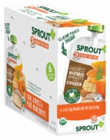 Sprout Organic Harvest Vegetables Apricot & Chicken Stage 3 Baby Food