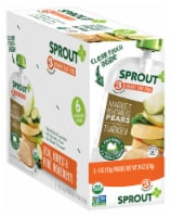 Sprout Market Vegetables Pears with Turkey Stage 3 Baby Food Pouches