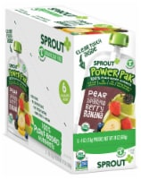 Sprout Power Pak Organic Pear with Superblend Berry Banana Stage T Baby Food