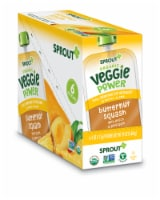 Sprout Organic Veggie Power Butternut Squash with Peach & Pineapple Baby Food