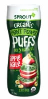 Sprout Organic Plant Power Puffs Apple Kale Baby Food