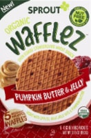 Sprout Organic Wafflez Pumpkin Butter & Jelly Baby Food 5 Count