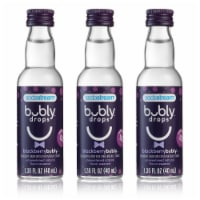 SodaStream bubly drops Blackberry Unsweetened Natural Flavor Essence - 3 Pack