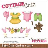 CottageCutz Dies-Baby Girl Clothes .2 X.5  To 1.5 X1.5 - 1