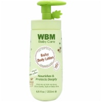 WBM Care Baby Lotion, Nourishes & Protects Deeply   100% Natural Face & Body Lotion   6.8 oz - 1 count