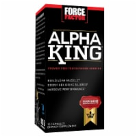 Force Factor Alpha King Testosterone Booster Capsules