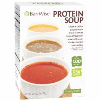 BariWise Protein Soup, Variety Pack (7ct) - 7/Box