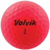 Volvik 9530 Volvik 2020 Vivid 3 Pc Golf Balls Matte Pink - 1