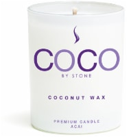 COCO by Stone Acai Coconut Wax Jar Candle