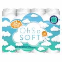 OhSo Soft 24pk 2-Ply Premium Bathroom Tissue