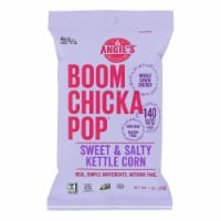 Angie's Kettle Corn Boom Chicka Pop Sweet and Salty Popcorn - Case of 24 - 1 oz. - Case of 24 - 1 OZ each