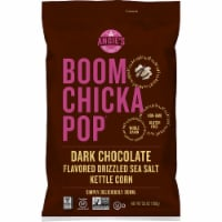Angie's Boom Chicka Pop Dark Chocolate Flavored Drizzled Sea Salt Kettle Corn Popcorn