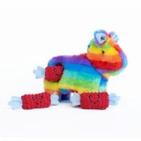 ZippyPaws - Zippy Burrow, Interactive Squeaky Hide and Seek Plush Dog Toy, Pinata