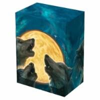 Legion Supplies LGNBOX054 3 Wolf Moon Deck Box