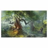 Legion Supplies LGNPLM145 Play Mat Lands Forest Card Accessories - 1