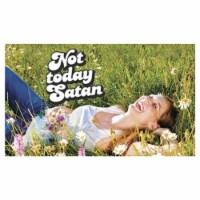 Legion Supplies LGNPLM091 Play Mat Not Today Satan Card Accessories - 1
