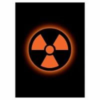 Legion Supplies LGNMAT139 Absolute Radioactive Deck Protectors - 50 Per Pack