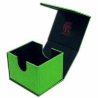 Legion Supplies LGNEDH206 Dragon Hide Hoard Version 2 Deck Box, Green