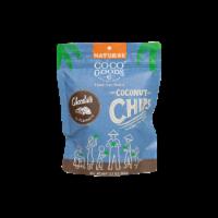 Natural Coconut Chips Chocolate 3.5 oz, Zip lock Bag - 3.5 oz, 2 pack