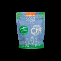 Natural Coconut Chips Scallions 3.5 oz, Zip lock Bag - 3.5 oz, 2 pack