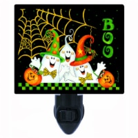 Halloween Decorative Photo Night Light. Boo Buddies. Ghosts. Free Extra Picture For Lights. - 1