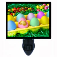 Easter Decorative Photo Night Light. Easter Chick. Peeps. Free Extra Picture For Lights. - 1