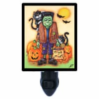 Halloween Photo Night Light. Franky's Night Out. Frankenstein. Free Extra Picture For Lights. - 1