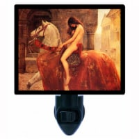 Old Masters Decorative Photo Night Light. Lady Godiva. Free Extra Picture For Lights. - 1