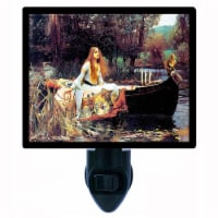 Old Maters Decorative Photo Night Light. The Lady Of Shallot. Free Extra Picture For Lights. - 1