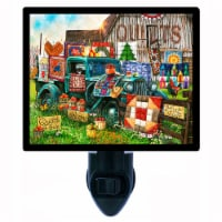 Quilting Decorative Photo Night Light. Quilts For Sale. Free Extra Picture For Lights. - 1