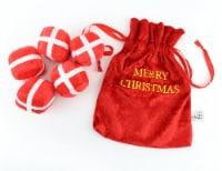 Midlee Santa's Gift Bag Dog Toy