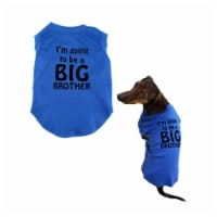 Midlee I'm Going to be a Big Brother Dog Shirt (XX-Large) - 1