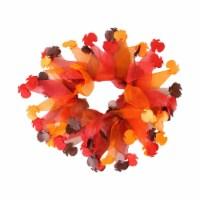 Midlee Thanksgiving Turkey Decorative Dog Collar (X-Large)