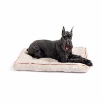 Midlee 31  x 24  Grey Tufted Outdoor Dog Bed (Medium) - 1