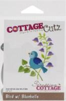 CottageCutz Dies-Bird W/Bluebells 2.3 X3 - 1