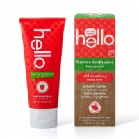 Hello Wild Strawberry Kids Fluoride Toothpaste