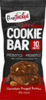 FlapJacked Chocolate Peanut Butter Soft Baked Cookie Bar