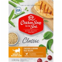 Chicken Soup 418435 No.4.5 Weight & Mature Care Chicken & Brown Rice Recipe Cat Food - 1